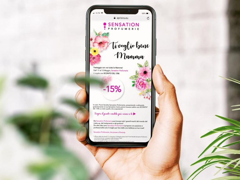 Sensation Profumerie - Mobile Marketing
